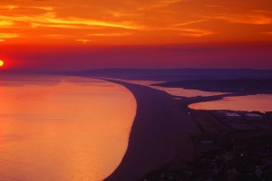 Chesil Beach Dusk