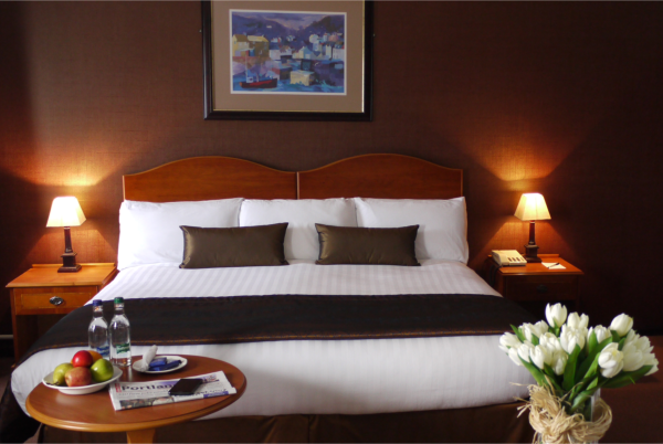 One of our bedrooms at Heights Hotel on Portland