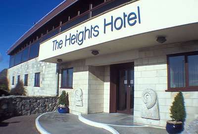 Welcome to the Heights Hotel on Portland in Dorset