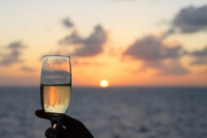 Sunset Champagne Toast