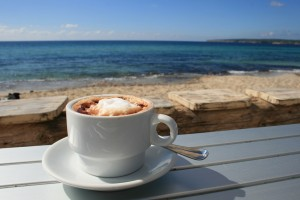 Coffee by sea