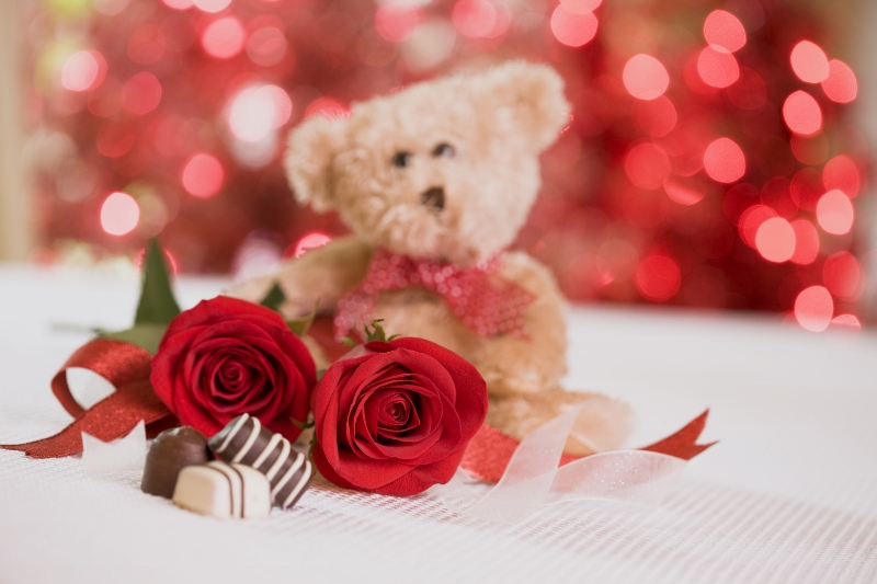 Roses Bears & Chocolates